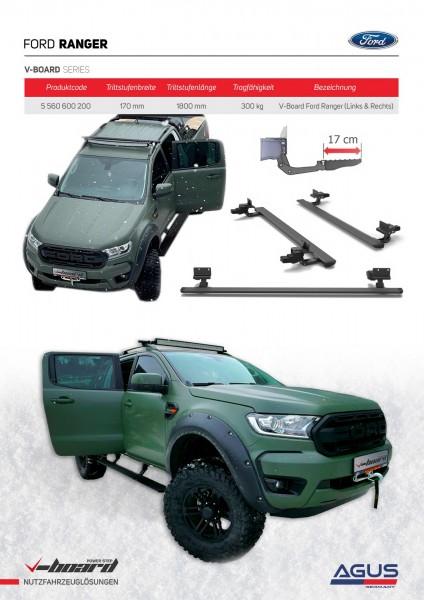 Ford Ranger V-Board elektrische Trittbretter