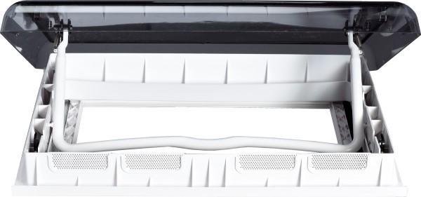 Airxcel Skymaxx LX Plus Dachhaube 50 x 70 cm für Dachstärke 23-43 mm mit LED-Beleuchtung 12 V