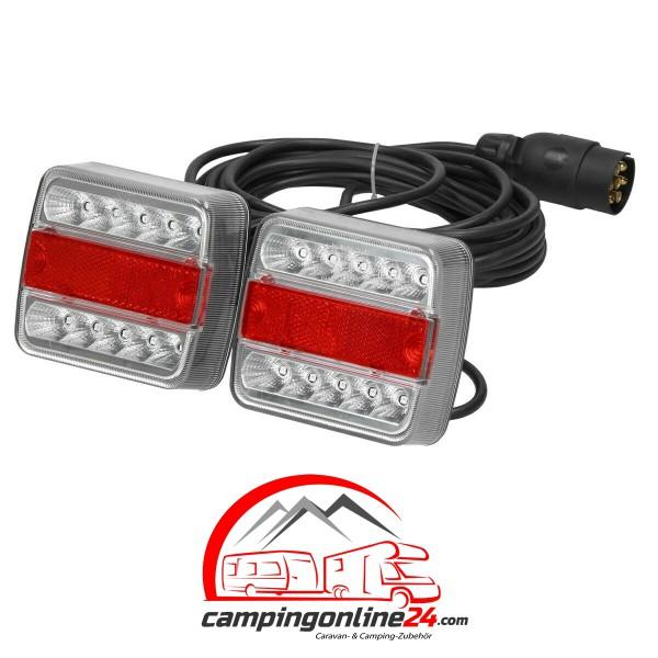 LED Rückleuchtenset für Anhänger-inkl. 7,5 m Anschlußkabel