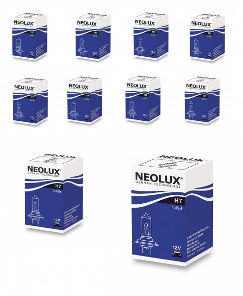 10 x Neolux by OSRAM H7 N499 - 55 W 12 V PX26d