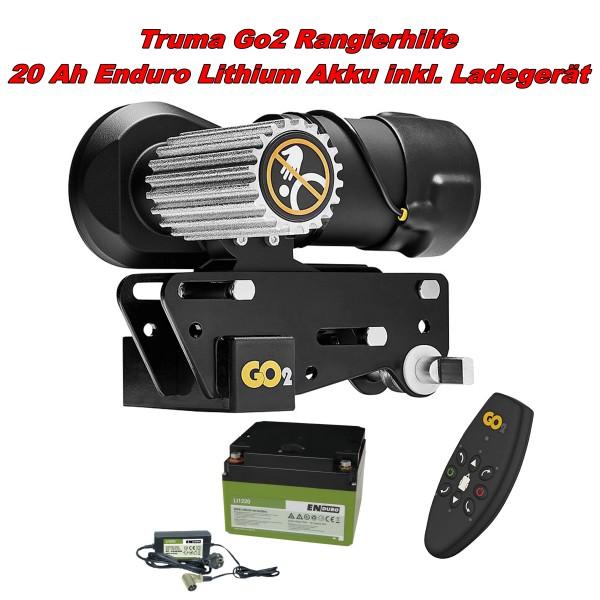 Mover Rangierhilfe Truma Go2 + 20 Ah Enduro Lithium Akku mit Ladegerät