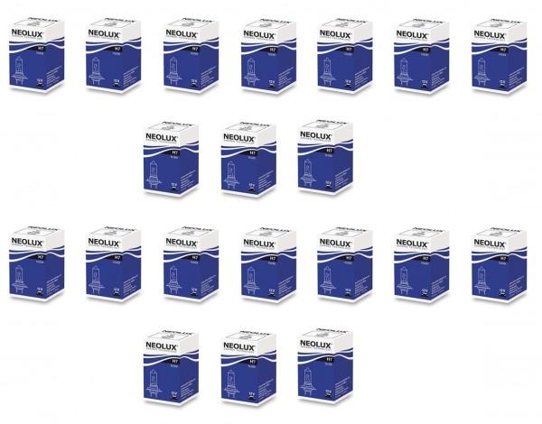 20 x Neolux by OSRAM H7 N499 - 55 W 12 V PX26d